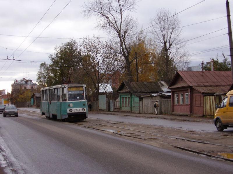Тут трамвай проходит через